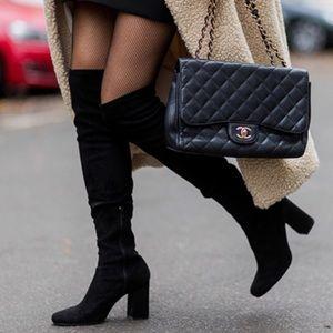Zara long thigh boots 40 black 10